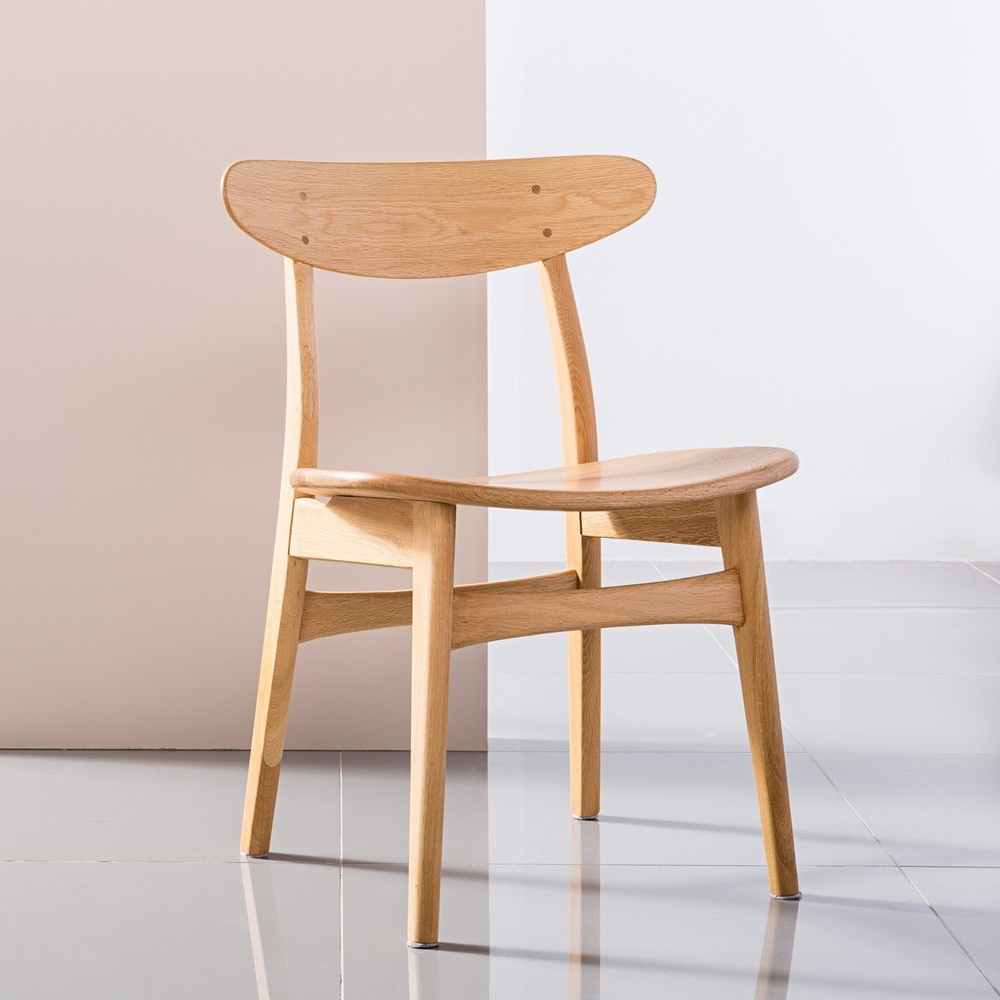 Astrid Solid Oak Dining Chair