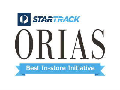 ORIA Best In-store Initiative Award