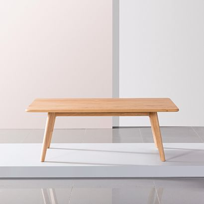 Magnus Coffee Table - Solid Oak - 120x70x43cm