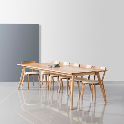 Magnus Dining Table - Solid Oak - 280x120cm