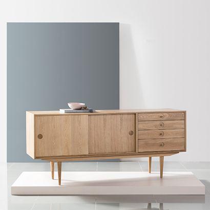 Jorgen Sideboard   Solid Oak   175x45x76cm