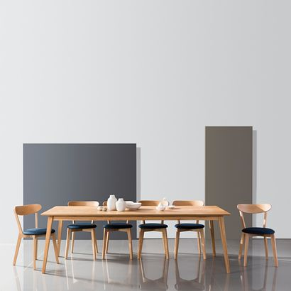Jolanda Dining Table - Solid Oak - 240x100cm