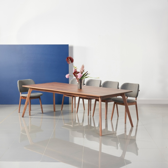 Magnus Dining Table - Solid Walnut - 240x100cm