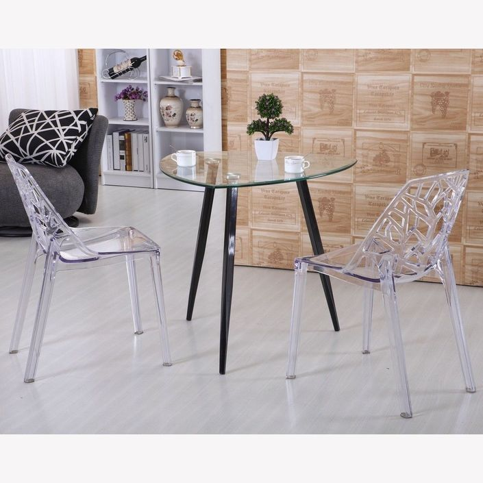 Rasmus Dining Chair - Clear Transparent